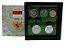 Display de Plástico Indonésia com 5 moedas - Imagem 2