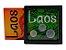 Display de Plástico Laos com 3 moedas - Imagem 1