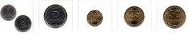 Set Moedas Ucrânia - 6 moedas - Imagem 1
