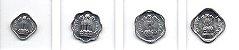Set Moedas da Índia - 4 moedas - Imagem 2