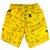 Bermuda de Menino Oliver algodão infantil amarelo Ibiza - Imagem 2
