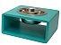 Comedouro Pet Moderno Verde Médio - Imagem 1