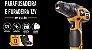 Parafusadeira e Furadeira WAP a Bateria 12v BPF LI-ÍON (BIVOLT) - Imagem 1