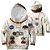 Blusa Moletom Infantil 3d Full Nasa Astronaura Armstrong Traje - Imagem 1