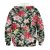 Blusa Moletom Infantil 3d Full Floral Flores Verão - Imagem 2