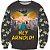 Blusa Moletom Desenho Hey Arnold - Imagem 1