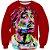 Blusa Moletom Careca 3d Full Rapper Tupac  - Imagem 1