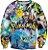 Blusa Moletom Careca 3d Full Pokemon  - Imagem 1