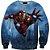 Blusa Moletom Careca 3d Full Homem De Ferro Vingadores Avengers - Imagem 1