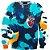 Blusa Moletom Careca 3d Full Heart  - Imagem 1