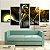 Quadro 5 Telas Decorativo Filme O Estranho Mundo De Jack (110x55 ou 160x90) - Imagem 2