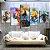 Quadro 5 Telas Decorativo  Jogo The Legend Of Zelda Aquarela (110x55 ou 160x90) - Imagem 1