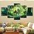 Quadro 5 Telas Decorativo Jogo The Legend Of Zelda Horse (110x55 ou 160x90) - Imagem 1