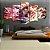 Quadro 5 Telas Decorativo Anime Kimetsu no Yaiba Tanjiro (110x55 ou 160x90) - Imagem 1
