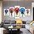 Quadro 5 Telas Decorativo Anime Kimetsu no Yaiba Personagens (110x55 ou 160x90) - Imagem 3