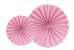 LEQUE ROSA  25cm (2 UNIDADES) - Imagem 1