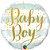 """BALÃO METALIZADO REDONDO BABY BOY 18"""" (UNIDADE) - Imagem 1"""