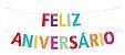 GUIRLANDA FELIZ ANIVERSÁRIO CORES - Imagem 1