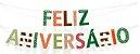 BANDEIROLA FELIZ ANIVERSÁRIO DINOSSAURO - Imagem 1