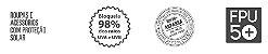 Luva curta com proteção solar uv.line - bege  - Imagem 2