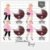 Kit Digital_Avatar_Chá de Bebê_Pink_Blonde - Imagem 4