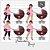 Kit Digital_Avatar_Chá de Bebê_Pink_Brunette - Imagem 4