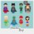 Kit Digital Clipart Liga da Justiça Cute by Elisabeth Pimenta - Imagem 1