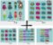 Kit Digital Clipart Liga da Justiça Cute  + Kit Digital Clipart Balões de texto - Heróis - Imagem 1