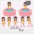 Kit Digital Clipart - Pool Party - Amelie by Elisabeth Pimenta - Imagem 2