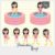 Kit Digital Clipart - Pool Party - Annelise by Elisabeth Pimenta - Imagem 2