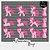 Kit Digital Clipart - Pequeno Pônei Rosa - Imagem 1