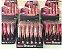 Batom Liquido Matte Cores variadas Ruby Rose HB 8606 caixa contendo 36 unidades - Imagem 2
