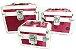 Maleta de maquiagem Rubys contendo 03 maletas - Imagem 1