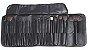 Kit Pincel Beauty Majestic Line Pro Estojo com 24 pinceis profissionais da Master Beauty   - Imagem 1