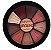 Paleta Mini Burgundy de Sombras Ruby Rose - Imagem 1