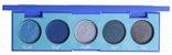 Paleta turquesa de sombra Coleçao Stones Playboy   - Imagem 2