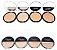 Pó compacto facial cores claras Queen Atacado Kit com 32 peças - Imagem 3