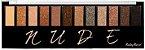 Paleta 12 Sombras 01 Primer Nude Ruby Rose Atacado Kit com 12 peças - Imagem 1