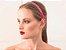 Tiara de Brilho Cetim Sparkle  Pink - Imagem 2