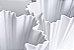 Vaso de Porcelana Branco Gelo 26cm - Imagem 3