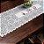 Trilho Valência Branco Café Vermelho 40cmX150cm Interlar - 161190 - Imagem 1