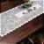 Trilho Valência Branco Chaleira 40cmX150cm Interlar - 161206 - Imagem 1