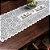 Trilho Valência Branco Corujinhas 40cmX150cm Interlar - 161213 - Imagem 1