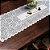 Trilho Valência Branco Galinha com Ovos 40cmX150cm Interlar - 161220 - Imagem 1