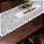 Trilho Valência Branco Morangos 40cmX150cm Interlar - 161237 - Imagem 1