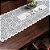 Trilho Valência Branco Vaquinhas 40cmX150cm Interlar - 161251 - Imagem 1