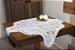 Toalha Quadrada Branca Com Estampa De Tulipinhas 75CM X 75CM Interlar - 100489 - Imagem 1