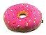 Almofada Rosquinha Donut - morango - Imagem 1