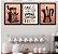 Kit 3 Quadros Decorativos Café é sempre uma boa ideia - Imagem 1