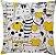 Capa de Almofada Amarela Gatos - Imagem 1
